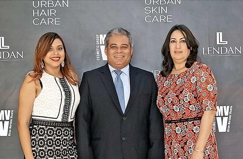 VMV Cosmetic Group presentó el tratamiento capilar Haird en la República Dominicana