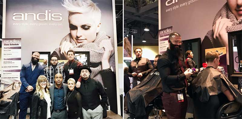 Andis exhibe lo último en barbería en el International Salon & Spa Expo
