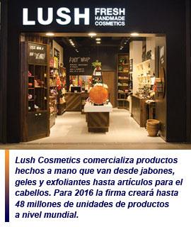Lush Cosmetics abre una nueva tienda en Santiago de Chile