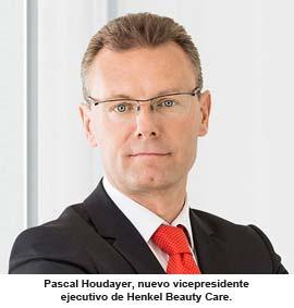 Pascal Houdayer, nuevo directivo de Henkel Beauty Care